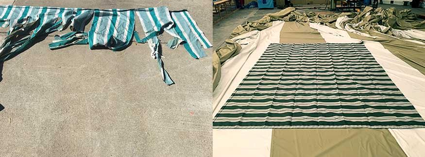 Grey Marine Polyester Boat Cover - Custom Fit