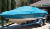 Ameri-brand aqua blue boat Cover